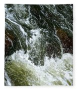 Rock Tumbler Fleece Blanket