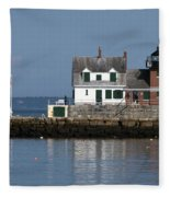 Rockland Breakwater Lighthouse Fleece Blanket