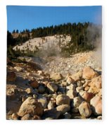 Rocky Fumarole Fleece Blanket