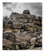 Rocky House Fleece Blanket