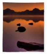Rocky Mountain Magic-six-fiftyone Am Fleece Blanket