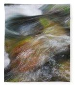 Rocky Riverbed Fleece Blanket