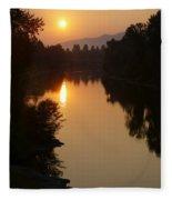 Rogue September Sunrise Fleece Blanket
