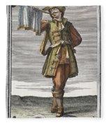 Roman Trumpet, 1723 Fleece Blanket