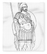 Rome: Army General Fleece Blanket