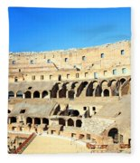 Rome Coliseum Fleece Blanket