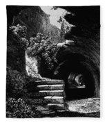 Rome: Colosseum, 1840 Fleece Blanket