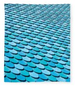 Roof Panels Fleece Blanket