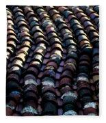 Roof Tiles 2 Fleece Blanket