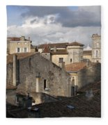 Roof Top View Fleece Blanket