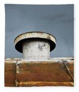 Rooftop Vent Fleece Blanket