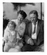 Roosevelt Family, 1915 Fleece Blanket