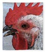 Rooster No. 2 Fleece Blanket
