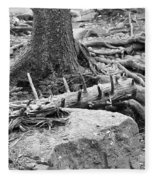 Roots Fleece Blanket