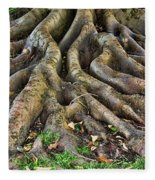 Roots Of Glory Fleece Blanket