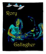 Rory And The Aliens Fleece Blanket