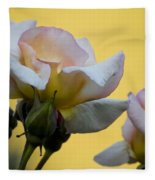 Rose Flower Series 3 Fleece Blanket