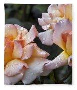 Rose Flower Series 7 Fleece Blanket