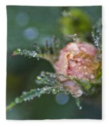 Rose Flower Series 9 Fleece Blanket