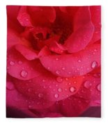 Rose For You  Fleece Blanket