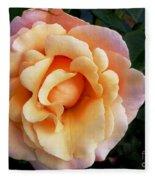 Rose Of Many Pastels Fleece Blanket