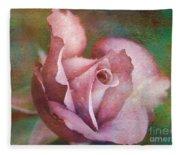 Rose Of Romance Fleece Blanket