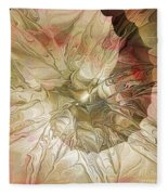 Rose Petal Highway Fleece Blanket