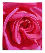 Rose Rose Fleece Blanket