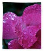 Rose Water Beads Fleece Blanket