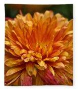 Rosey Glow Mum Fleece Blanket