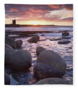 Roslee Castle, Easky, County Sligo Fleece Blanket