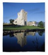 Ross Castle, Killarney, Co Kerry Fleece Blanket