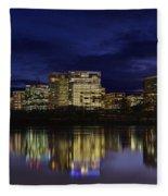 Rosslyn Skyline Fleece Blanket