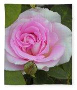 Rosy Fleece Blanket