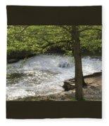 Rouge River At Fair Lane Fleece Blanket