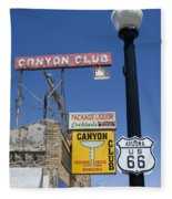 Route 66 Canyon Club Fleece Blanket