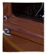 Route 66 Classic Cars 14 Fleece Blanket