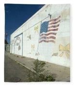 Route 66 Wall Fleece Blanket