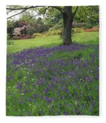 Rowallane Garden, Co Down, Ireland Wild Fleece Blanket