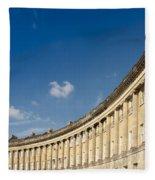 Royal Crescent Fleece Blanket