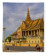 Royal Palace Fleece Blanket