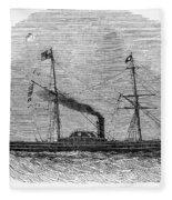 Royal Yacht, 1843 Fleece Blanket