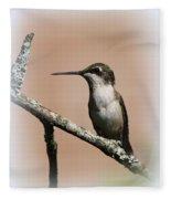 Ruby-throated Hummingbird - Totally Innocent Fleece Blanket
