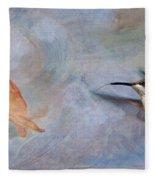 Ruby Throated Hummingbird 2 Fleece Blanket