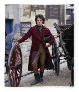 Rufus Sewell Fleece Blanket