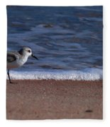 Run By The Sea Fleece Blanket