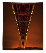Run Through The Night Fleece Blanket