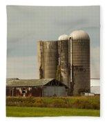Rural Country Farm Fleece Blanket