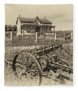 Rural Ontario Antique Fleece Blanket