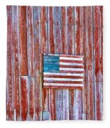 Rural Patriot Fleece Blanket